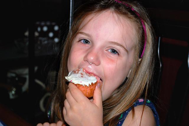 Half-Birthday Cupcake