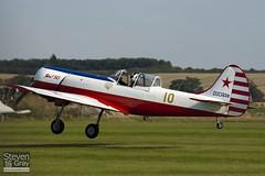 G-BTZB - 801810 - Aerostars Team - Yakovlev Yak-50 - Duxford - 100905 - Steven Gray - IMG_8171