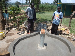 Eburenga pri.school-new re-constructed well pad.