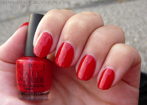 OPI - Color So Hot it Berns #4