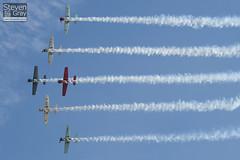 Aerostars Team - Yakovlev Yak-50 - Duxford - 100905 - Steven Gray - IMG_7885