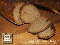 Brunkeberg's Bakery Long Brown Bread (BBB)
