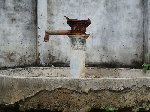 Rajasthan (disused) water pump (Bhimpur Village)