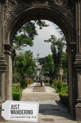 UST Entrance arch