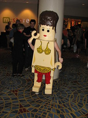 LEGO Leia at Dragon*Con 2010