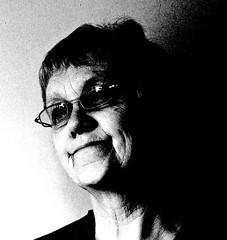A grain of truth (3pebbles) Tags: portrait blackwhite digilux2 experiment
