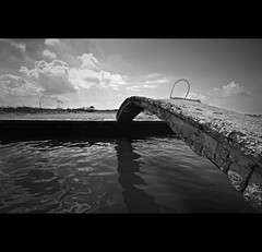 crossing   SS7 quater PROJECT  () Tags: river blackwhite interestingness fiume tokina explore canoneos mafia biancoenero reportage torrente camorra 50d domiziana explored castelvolturno mondragone saviano gomorra 1116mm domitiana agnena pescopagano vincenzopapa ss7quater