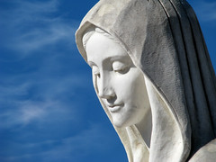 Hail Mary Full Of Grace (fajjenzu) Tags: statue bosniaherzegovina ourlady apparitions medjugorje