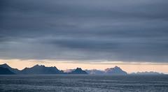 The Lofoten wall (elosoenpersona) Tags: sunset sea mountains norway atardecer islands mar horizon norwegen noruega lofoten reine artic montaas artico moskenes elosoenpersona sakrisoya