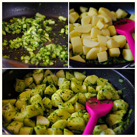 Easy Parsley Potatoes