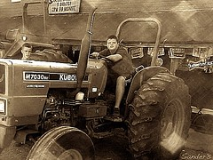 Goble boys (SHUTTERjournals) Tags: oregon rural farm johndeere farmboys tractorshowgoble