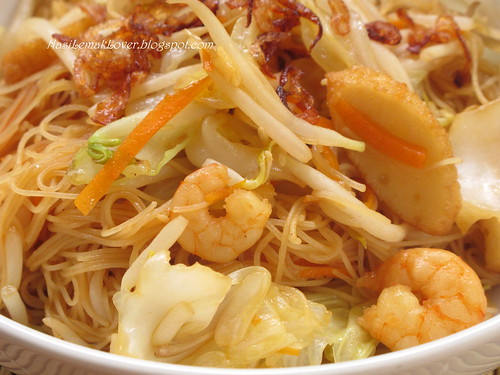 Fried Hokkian Mee Hoon (Rice Vermicelli)