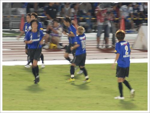 安田理大ゴール@ガンバ大阪 VS セレッソ大阪