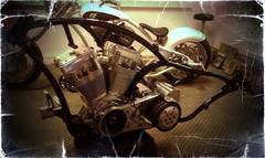 Assembly.. (Marius Mellebye / 276ccm) Tags: bike oslo norway chopper harleydavidson motorcycle custom kustom mariusmellebye 276ccm redneckbikes knutolavdybsjord