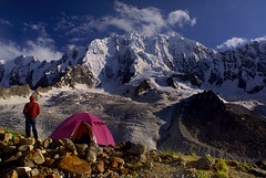 Enjoying... (M Atif Saeed) Tags: pakistan mountain mountains nature trekking trek landscape tent areas northern northernareas karamber darkot atifsaeed bhrogil gettyimagespakistanq1