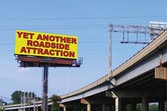Yet Another Roadside Attraction (trepelu) Tags: virginia digitalart richmond billboard va freeway publicart roadsideattraction i195