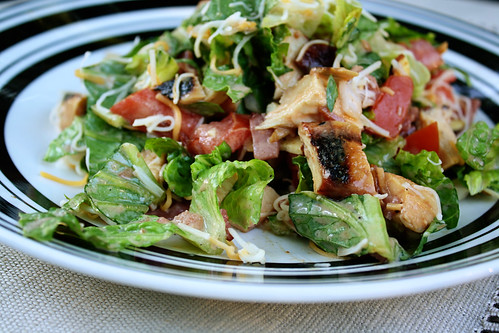 bbq blt chicken salad2