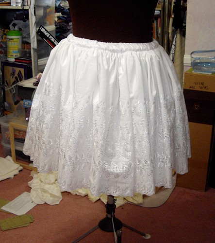 White Lolita Skirt