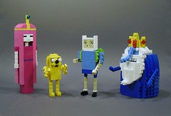 What time is it? Adventure Time! (Ochre Jelly) Tags: jake lego princess cartoon adventure bubblegum lumpy finn mathematical cartoonnetwork moc marceline iceking adventuretime brickcon