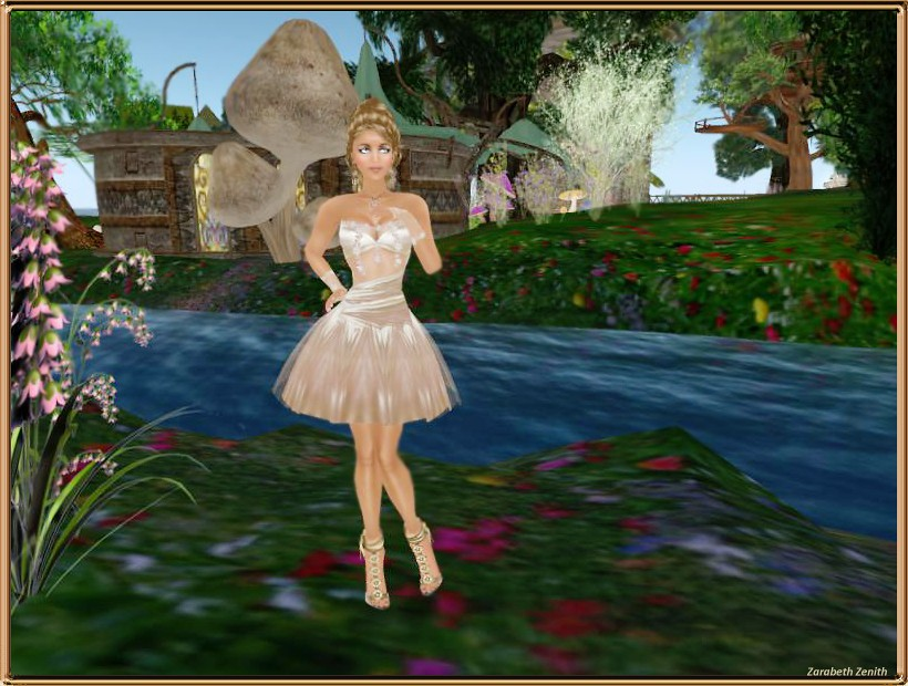 Coconut Ice ~ Ever After Gown (Gold Medal) #1