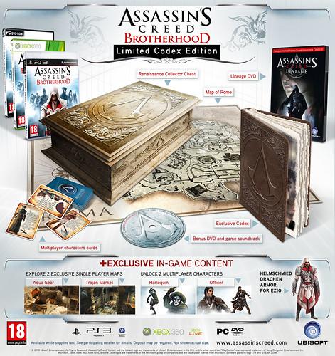 Assassins Creed Brotherhood Collectors Edition