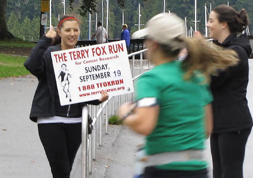 Vancouver's Terry Fox Run 2010 Re-ignites Marathon of Hope at 30th Anniversary in Stanley Park