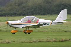 G-CCEM - 2003 build Aerotechnik EV-97 Eurostar, visiting Barton (egcc) Tags: manchester eurostar barton pfa cityairport ev97 aerotechnik egcb rotax912 gccem 31513987