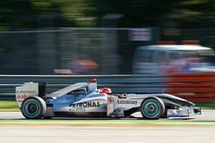 Michael Schumacher (Alessio x79x) Tags: sport mercedes nikon f1 grandprix formulaone panning formula1 schumacher fia gp motorsport autodromo monza 70200f28 variante varianteascari nikond3s