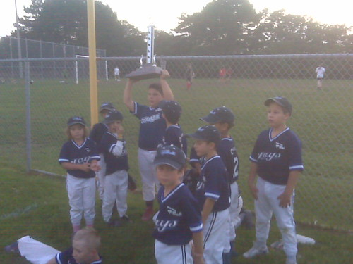 Biggest 2nd place trophy, ever!