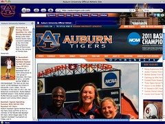 Auburn Tigers Browser Theme