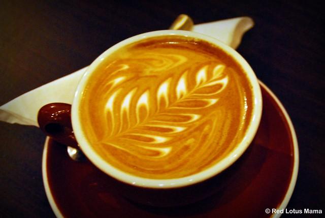 Caffé Calabria latte