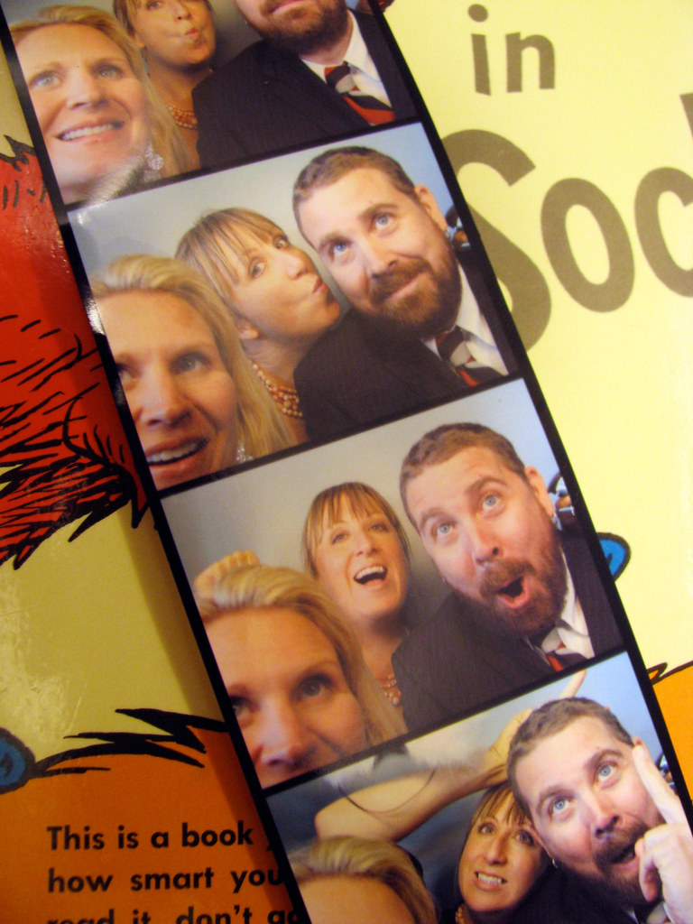 wedding photo booth!