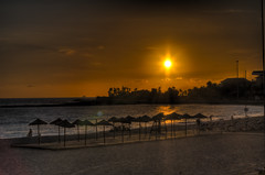 Sunset (Jared Benney) Tags: 50mm spain pentax f14 tenerife canaries hdr fifty nifty k7 photomatix tonemapped