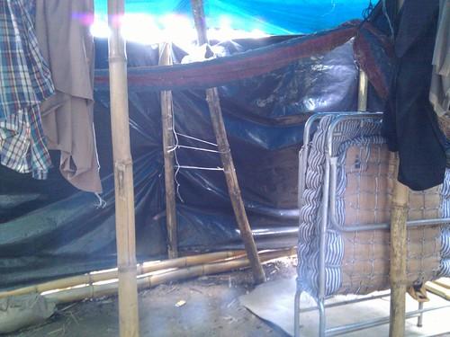 Inside Tio's Tent