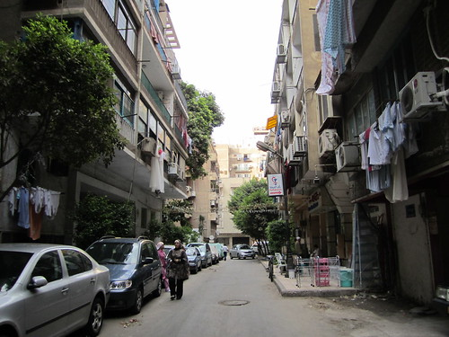 Street of Apartments in Zamalek