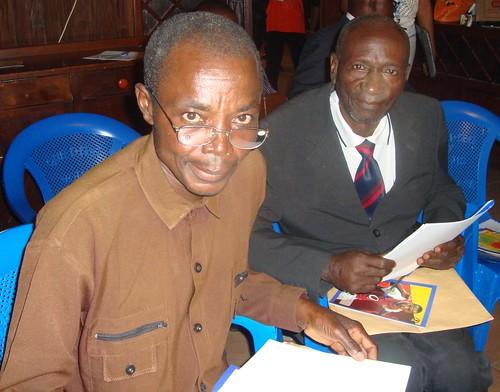 Les deux chefs de groupement de Territoire Ubundu