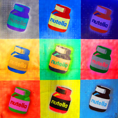 Nutella (retroglamourr) Tags: colour sign popart nutella