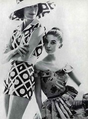 Carven (Classic Style of Fashion (Third)) Tags: 1950s 1956 1950sfashion carven vintagefashion vintagemagazine frenchvogue