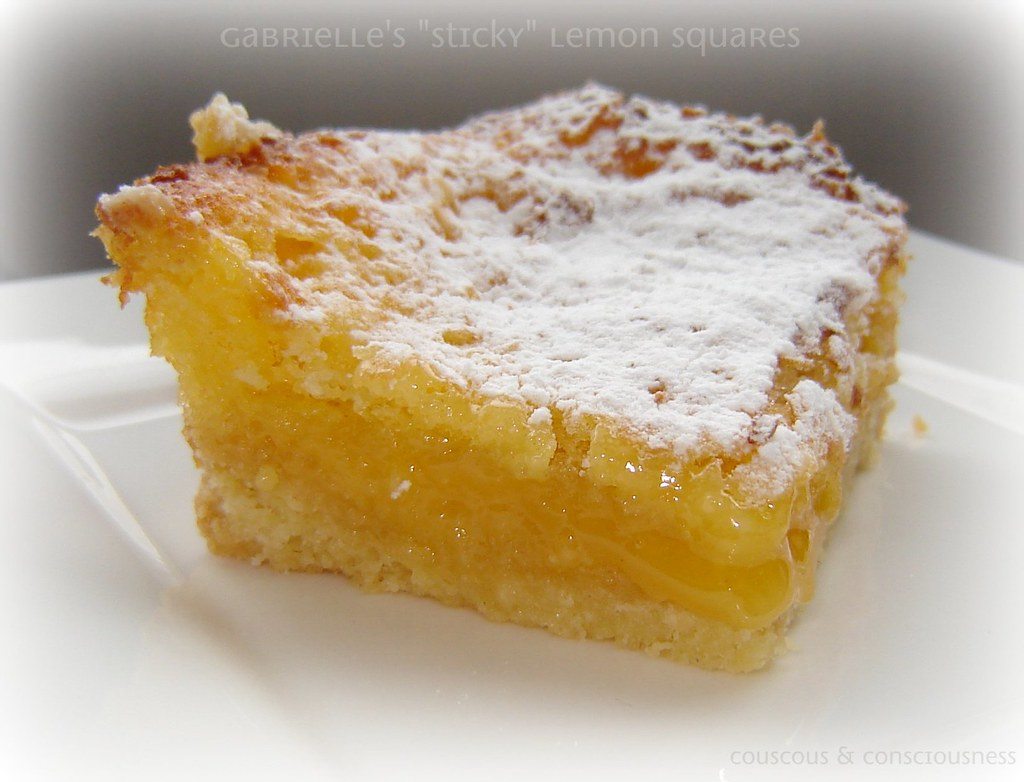 Gabrielle's Sticky Lemon Squares 3, edited