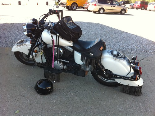 ABATE instructor's bike