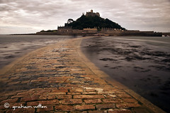 St Michaels Mount (grahamwiffen) Tags: longexposure island cornwall priory causeway stmichaelsmount nd110