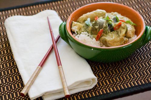 Thai Green Curry 8