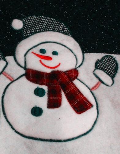 Material Snowman