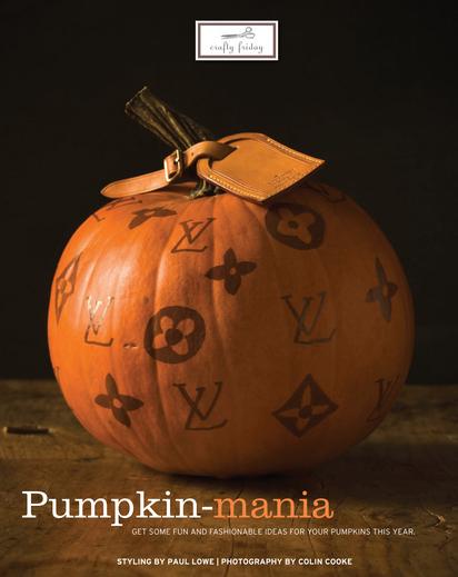 sweet paul magazine fall 2010 louis vuitton pumpkin