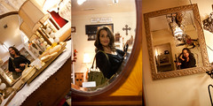 Antique shopping...268/365 (~ cynthiak ~) Tags: selfportrait reflections illinois triptych mirrors antiques 365 wilmington selfie meandmycamera milltownmarket