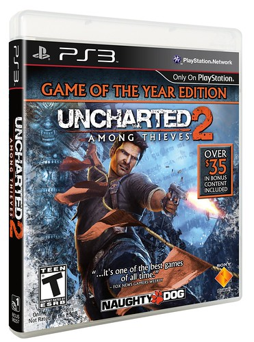 UNCHARTED 2: Game of the Year edition
