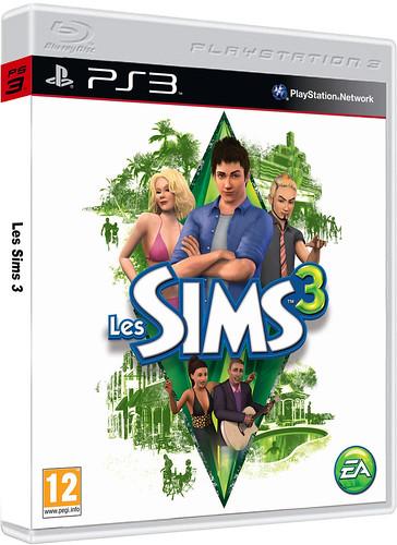 Sims 3 PS3 3D