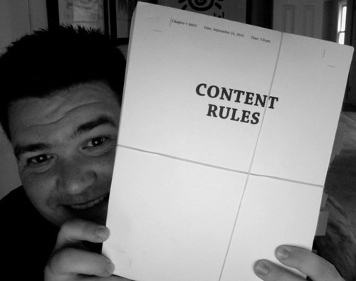 Page Proofs for Content Rules