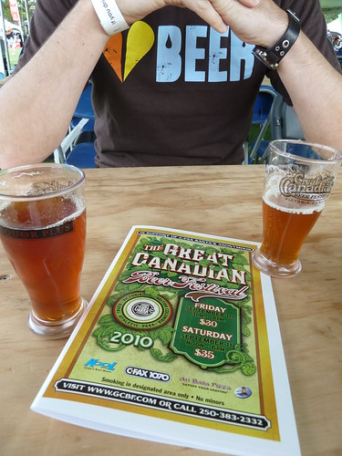 Day 1 - Great Canadian Beer Festival