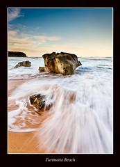 Turimetta Beach (dr.r.lam) Tags: ocean longexposure sunset seascape beach rock landscape flickr foam narrabeen warriewood 1740mmf4l leefilter turimetta turimettabeach eos1dsii leegnd adobephotoshopcs5 leegraduatedndfilter